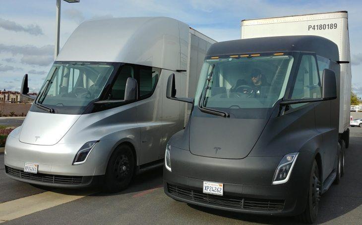 VIDEO: Nový elektrický kamion Tesla Semi prochází testy. Výroba má být po odkladech zahájena tento rok