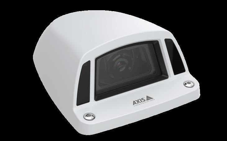 Nová kamera Axis k vnější instalaci na vozidla dohlédne na dopravní provoz i na potřebu údržby