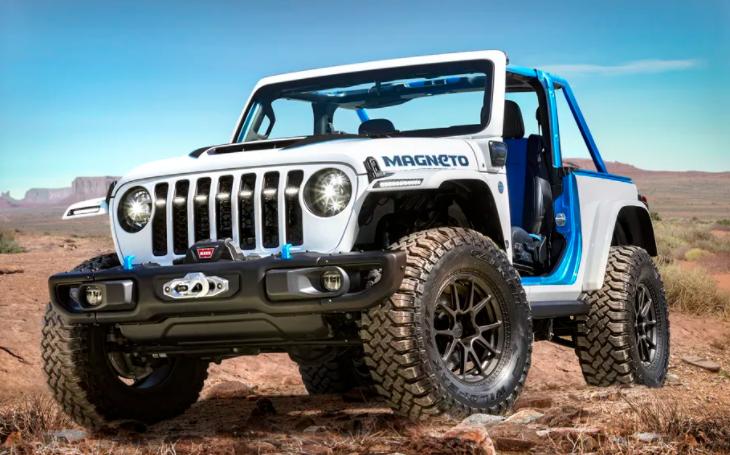 VIDEO: Inspirováno X-Meny. Jeep představil koncept nového elektrického off-roadu s manuální převodovkou