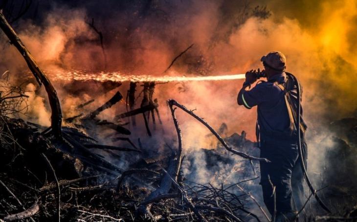 Roste počet požárů v přírodě, hasiči apelují