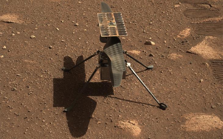 Vrtulníček Ingenuity na Marsu prochází posledními testy - historický okamžik prvního startu nastane v neděli