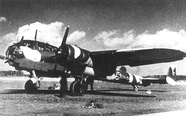 Finské bombardéry ,,drze&quote; proklouzávaly do sovětského vzdušného prostoru a zasypávaly letiště pumami