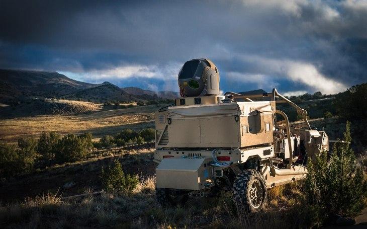 Raytheon získal novou zakázku na vylepšení laserového systému HELWS