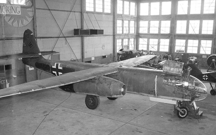 První proudový bombardér Hitlera nespasil. K jeho nasazení už došlo pozdě