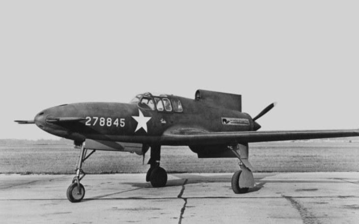 VIDEO: Stíhač Curtiss XP-55 - Velké naděje pohřbily ještě větší pády
