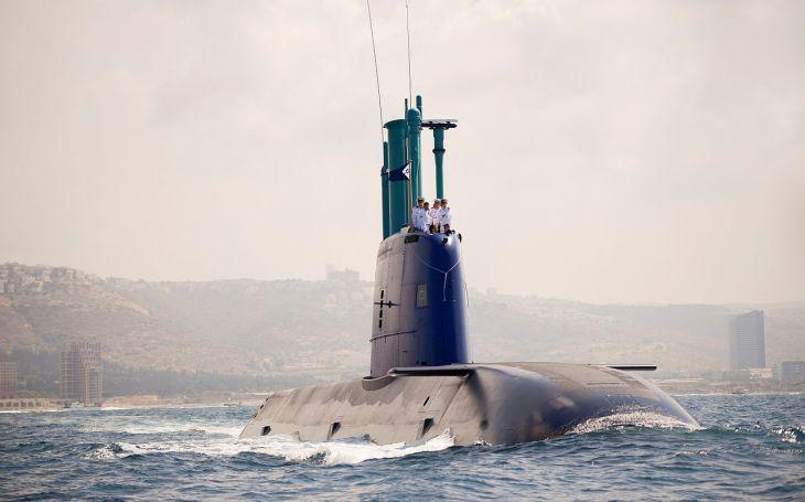 Třída Dolphin - izraelské stíhací útočné ponorky