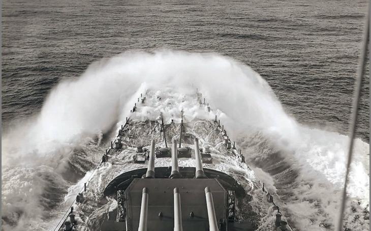 USS Washington – bitevní loď zabiják
