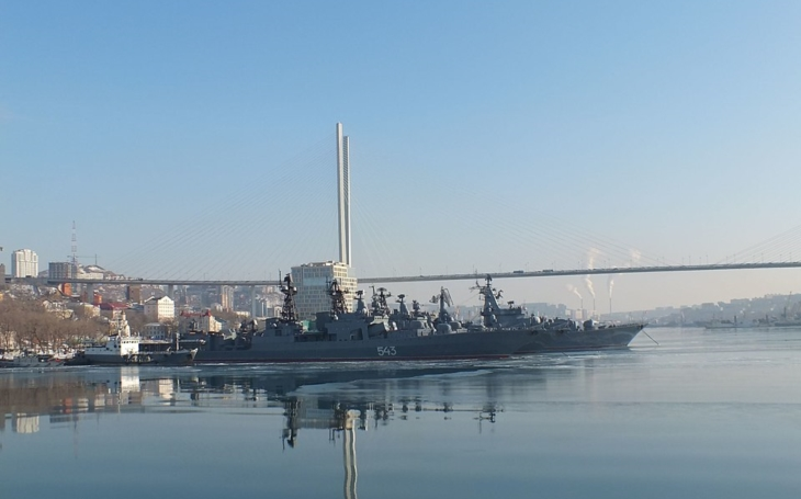 Nefunkční ruské zázračné zbraně – raketa Kalibr málem trefila loď, ze které byla odpálena
