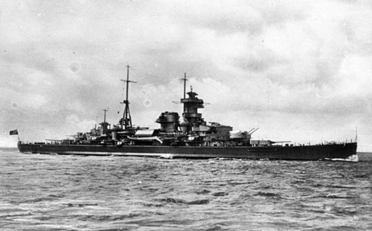 Hitlerův zabiják konvojů - křižník Admiral Hipper dělal čest svému jménu