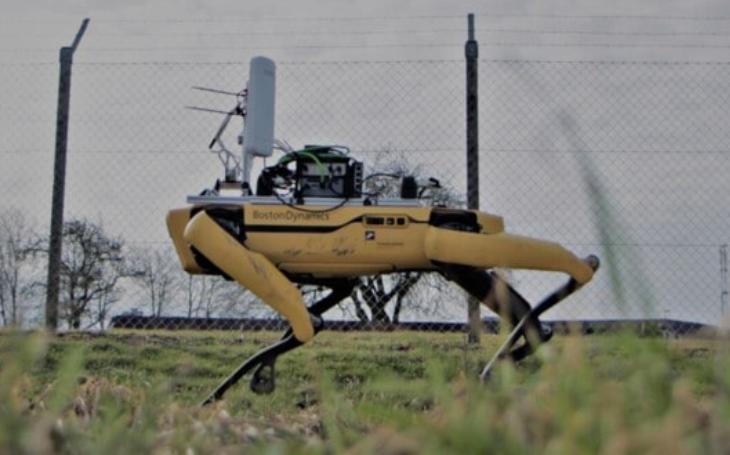 5G přináší nové možnosti využití robotů. Důkazem je Spot z dánského letiště