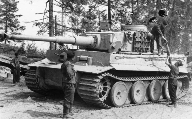 Hitlerova monstra s rudou hvězdou - tanky Tiger ve službách SSSR