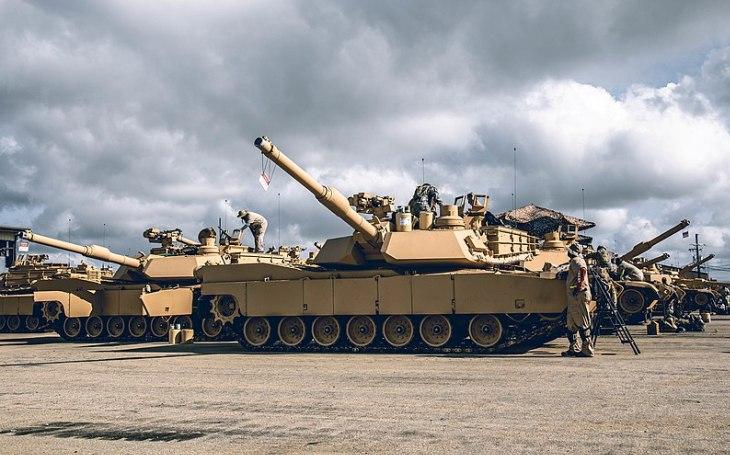 USA schválily zbrojní balíček pro Austrálii. Zahrnuje 75 tanků M1A2 SEPv3