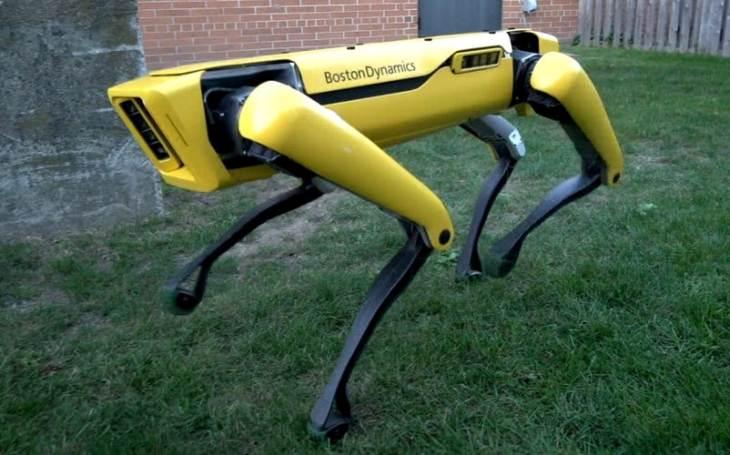 Americký robotický pes byl odvolán z akce, měl být symbolem rasismu