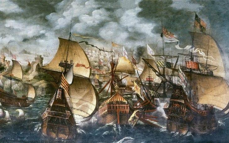 Bitva u Gravelines: Španělská Armada se musela sklonit pod drtivým anglickým úderem