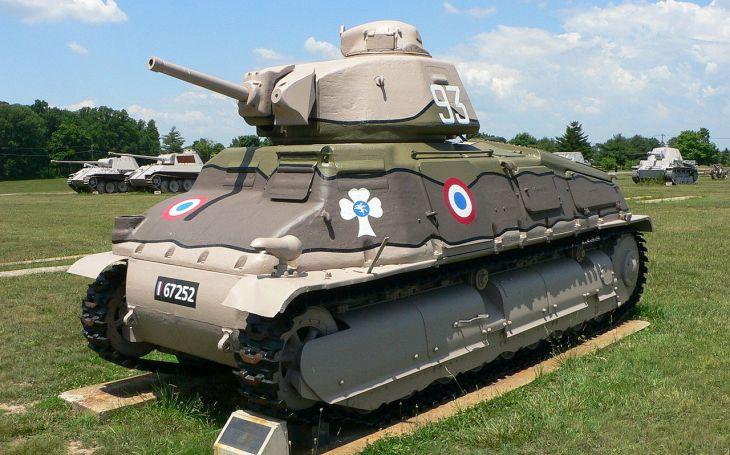 Somua S-35 - Francouzský tank, co si zjednal respekt nacistů