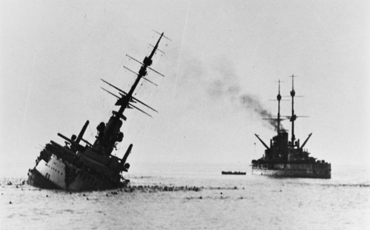 Torpédové čluny proti moderní bitevní lodi - nešťastný rakousko-uherský Szent István