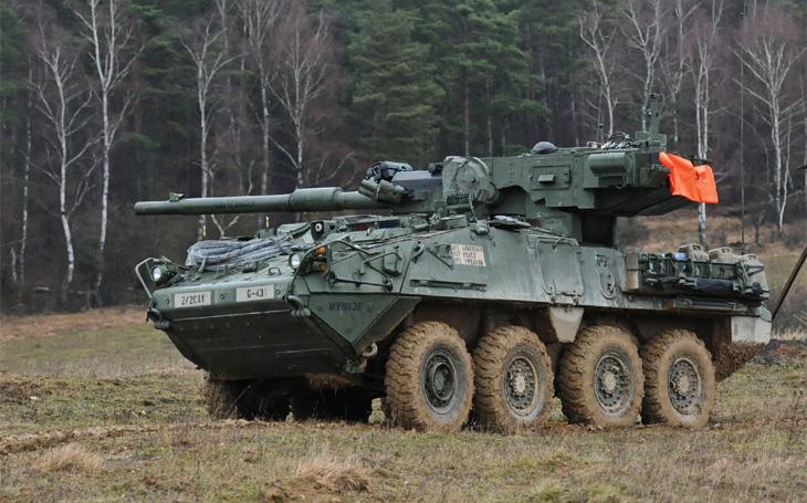 Americká armáda se zbavuje Strykerů MGS - problémem je automatický nabíjecí systém