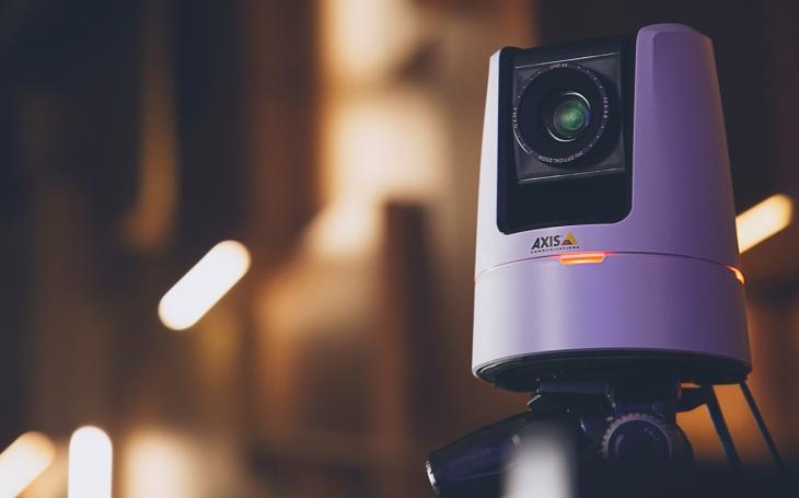 Nejen k zabezpečení. Nová otočná IP kamera Axis přináší profesionální video streamy v rozlišení 4K UHD