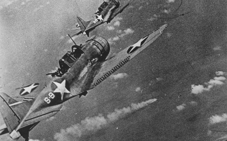 Stopař McClusky našel Nagumovy letadlové lodě díky zbytečné chybě japonského velitele - a otočil vývoj války v Pacifiku