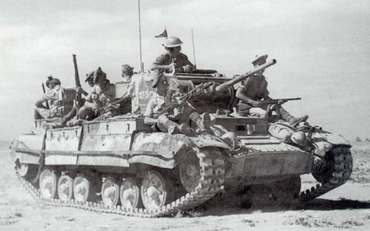 Severoafrickou pouští se brodily ve druhé světové válce i britské tanky. Které naháněly silám Osy strach?