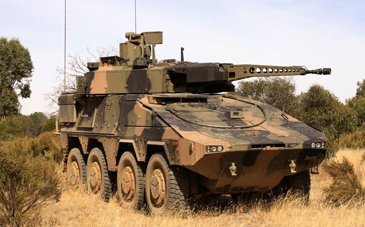 Společnost Rheinmetall dodala australské armádě prvních 25 vozidel Boxer 8×8 CRV