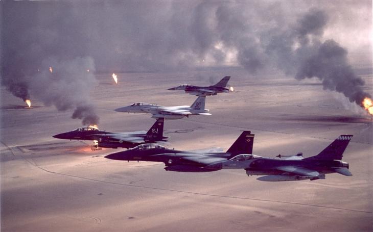 Válka v Zálivu - použijete chemické zbraně? Pak se bojte jaderného úderu…