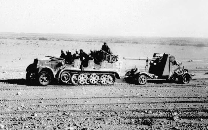 88 mm protitankových argumentů - Flak 18/36/37 ničil letouny, bunkry i tanky