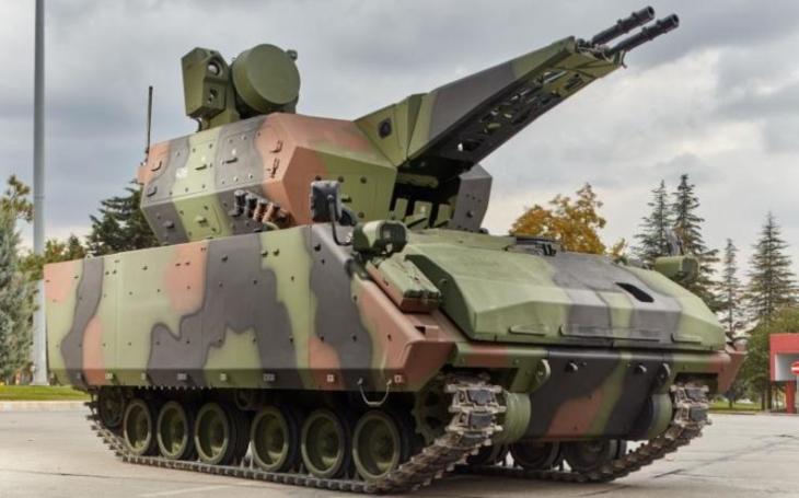 Turecko nabízí Ukrajině protiletadlový systém Korkut