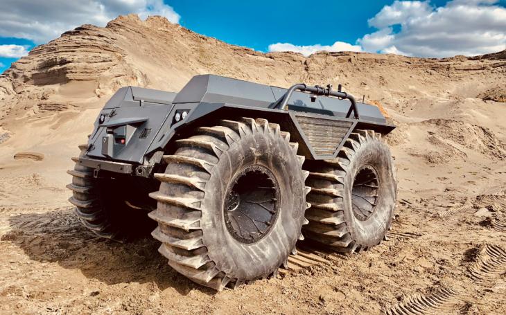 VIDEO: Mission Master XT - Nové bezosádkové pozemní vozidlo určené ke zdolávání extrémních terénů