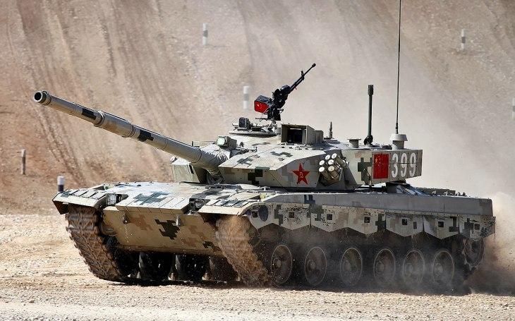 VIDEO: Lehký tank Type 15 - čínský ,,černý panter&quote; proti Indii