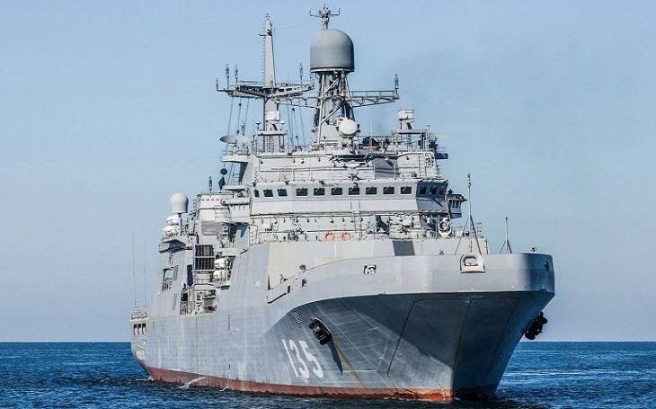 VIDEO: Projekt, který se nezdařil? Třída Ivan Gren - výsadková plavidla ruského námořnictva