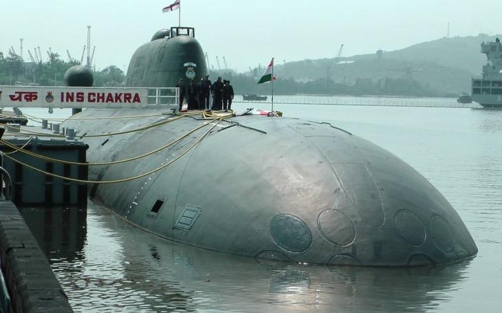 Indie vrátí svou jedinou jadernou ponorku zpět do Ruska - Akula se vrací domů