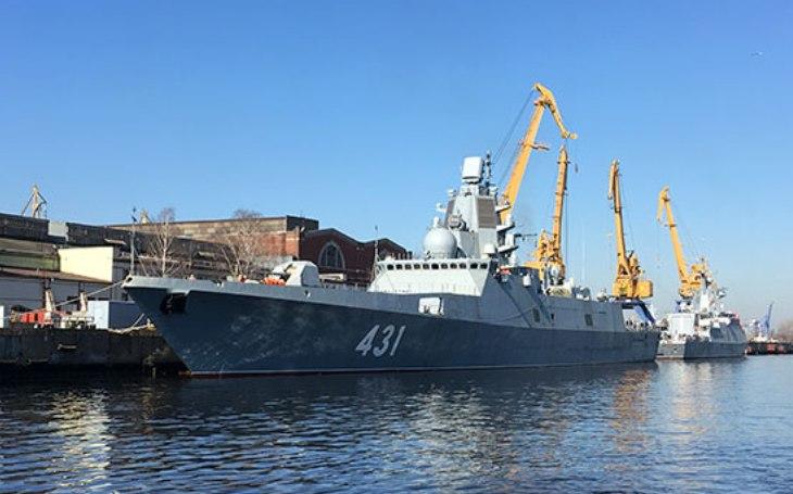 Vymezování operačního prostoru ruského vojenského námořnictva