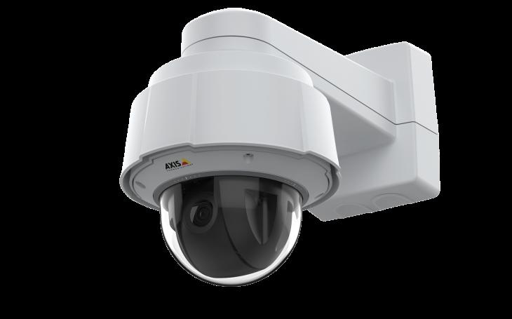 Rozdíl je v detailu. Nová otočná kamera Axis definuje standard videodohledu v rozlišení 4K