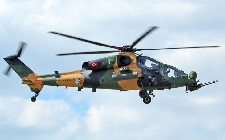 Ukrajinské motory pro turecký těžký bitevní vrtulník ATAK 2