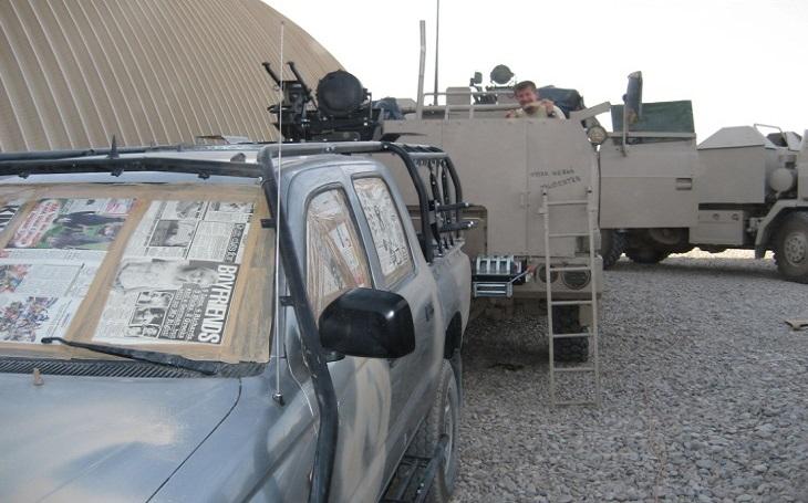 SOG Afghánistán 2007 – První setkání s nepřítelem