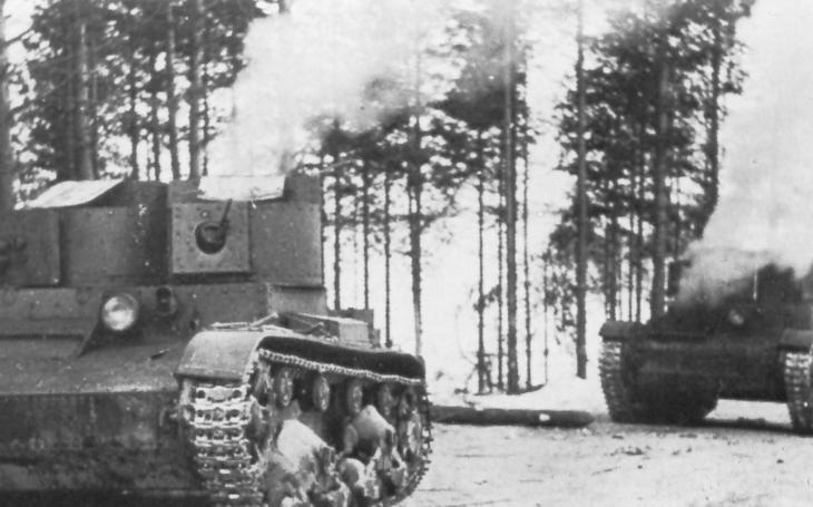 Zastaralý sovětský tank T-26 zastavil elitní jednotky Adolfa Hitlera a zachránil SSSR