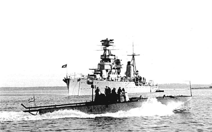 Extrémně rychlý torpédový člun G5 od leteckého konstruktéra Tupoleva nesl i legendární Kaťuše