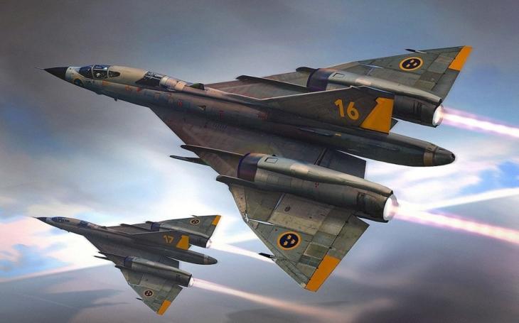 Saab A-36 – švédský supersonický bombardér pro jaderný úder na SSSR