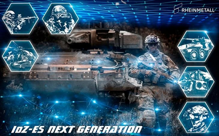 Rheinmetall představuje Bundeswehru první ucelený koncept nové generace vojáka budoucnosti