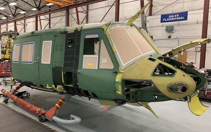 Bell zahajuje výrobu vrtulníku UH-1Y pro prvního mezinárodního zákazníka