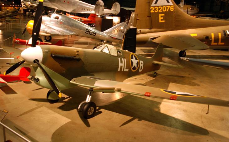Britské letouny s americkou hvězdou - na Spitfirech sestřelili Američané na 350 Němců a Italů