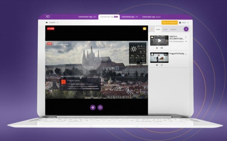 Střihové studio přímo v IP kameře. Česká aplikace dělá z kamer Axis nástroj pro tvůrce video obsahu