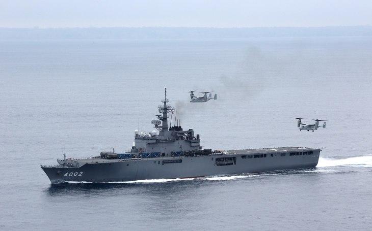 Třída Ósumi - Japonské vrtulníkové výsadkové lodě