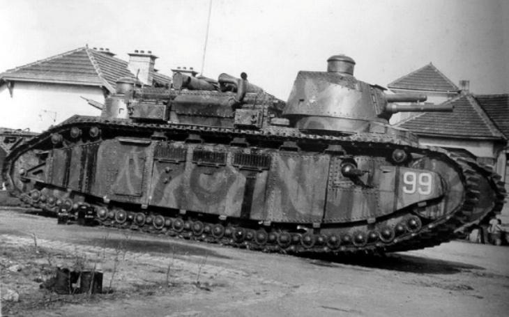 ,,Extrémně zranitelný.&quote; Francouzský tankový obr Char 2C měl na bojišti rozsévat hrůzu, provázela ho však smůla
