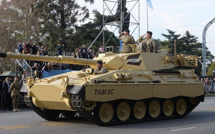 Střední argentinský tank TAM: Sázka na evropskou technologii