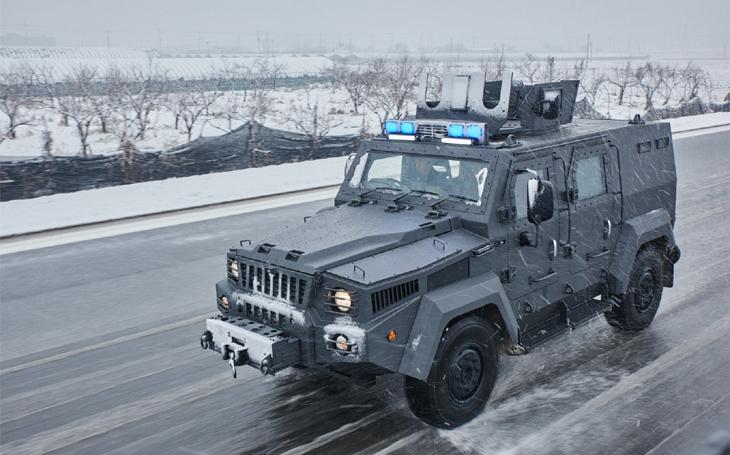 Jihokorejská armáda zkouší nové kolové obrněné vozidlo – Blue Shark má exportní ambice