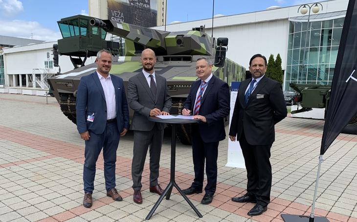 Rheinmetall a slovenská společnost CSM Industry s.r.o. podepsaly Memorandum o porozumění o výrobě hlavních komponentů  pro vojenská vozidla