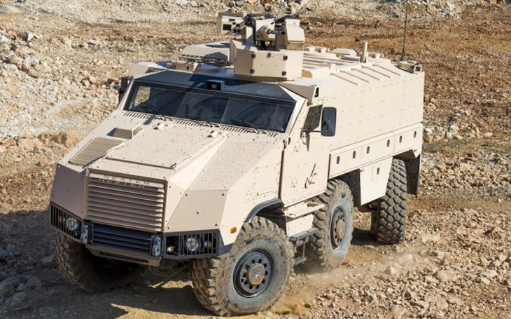 Firmy holdingu CZECHOSLOVAK GROUP a TATRA TRUCKS představí vojenská vozidla i letecké technologie