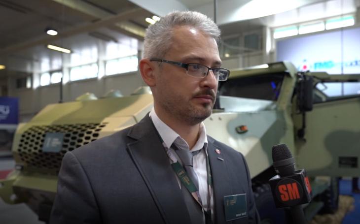 IDEB 2021: Rozhovor s generálním ředitelem společnosti Tatra Defence Slovakia Michalem Balážem o nové obrněné platformě 4x4